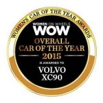 Volvo XC90 named Car of the Year by Women on Wheels