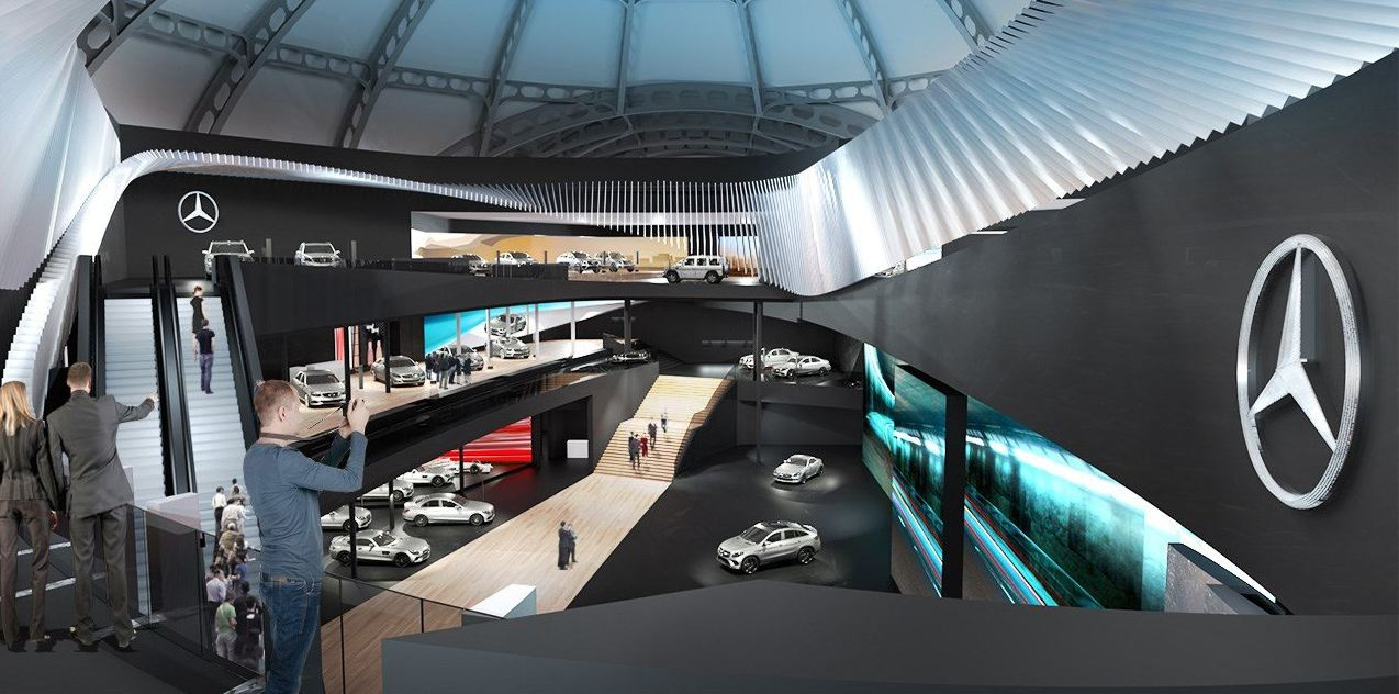 Quot Mercedes Dream Car Collection Quot At The International Motor