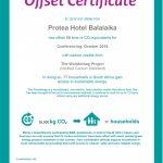 Protea Hotel Balalaika Sandton launches carbon offset programme
