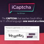 iCaptcha presents a unique way to bridge the language gap