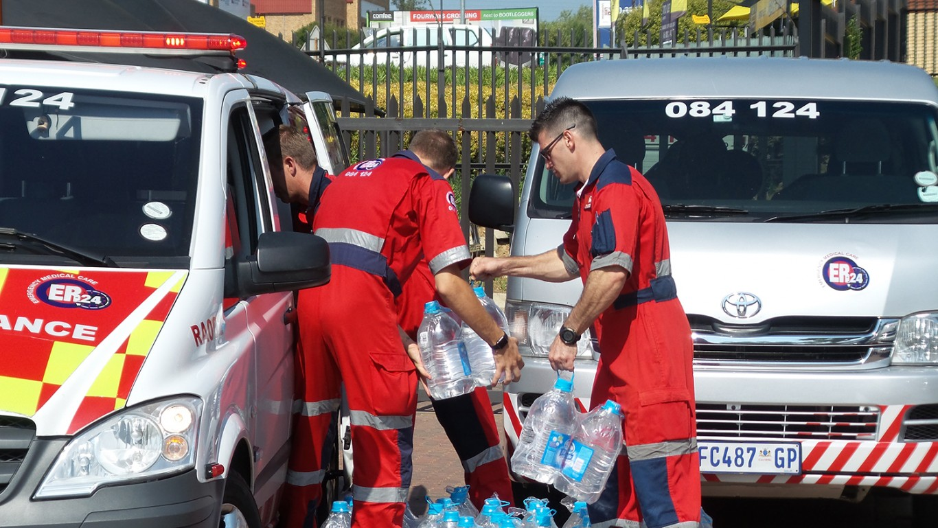 ER24 donates water 1
