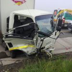 Two critically injured in truck crash near Harrismith