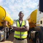 How would we judge or describe the ideal truck driver? Trucker Nduna Chari is the Man!