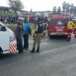Two killed in collision between truck and taxi on R512 Renosterspruit area