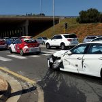 Truck crashes into two vehicle leaving three injured