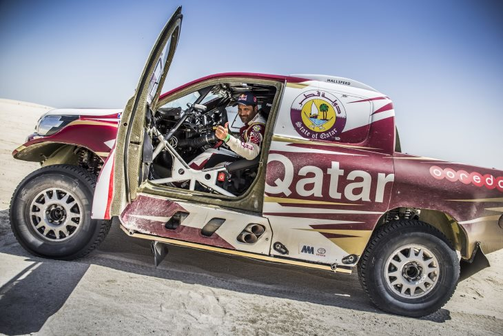 Toyota Hilux in Perfect Position as Al-Attiyah Extends Lead