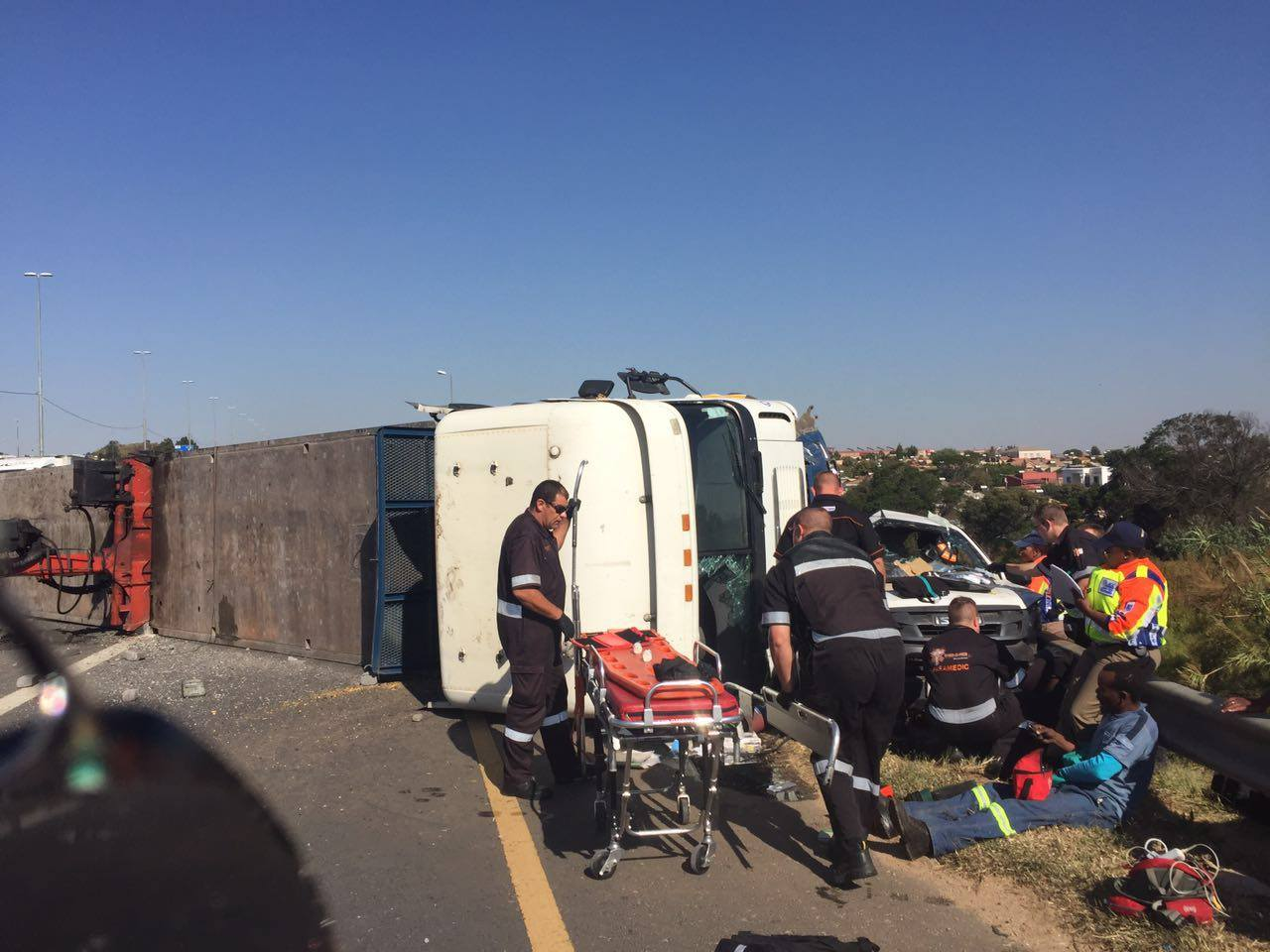 Truck crash on the N3 North after London Road forces freeway