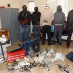 Five robbery suspects arrested in Welkom and stolen goods recovered