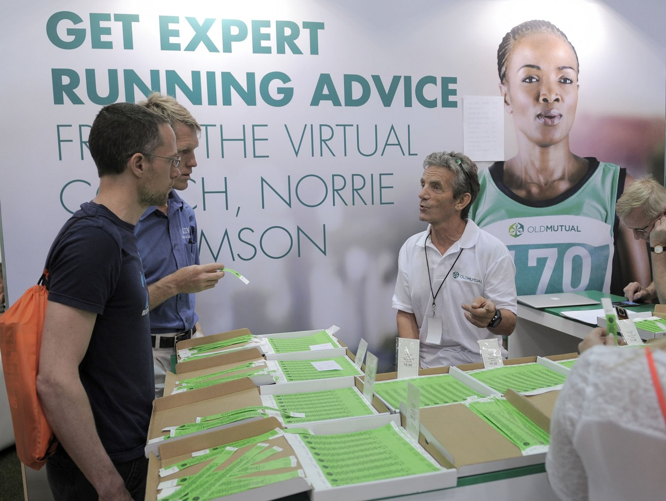 OM Expo with virtual coach Norrie Williams