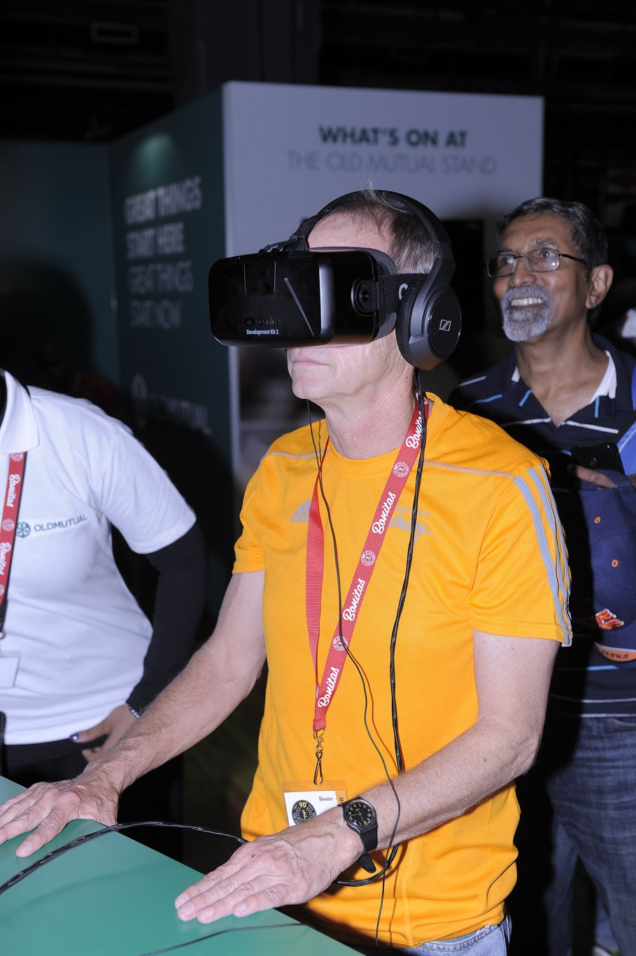 Occulus Rift at the Comrades Expo