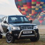 """Black is the new """"In"""" colour for the Tata Evolve bakkie"""