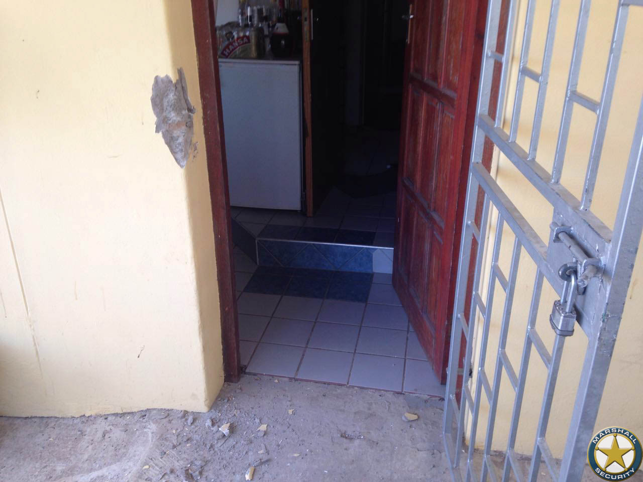 Housebreaking reported in Rose Hill , Durban North