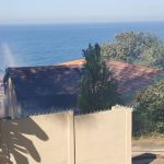House fire on the Bluff, Durban South