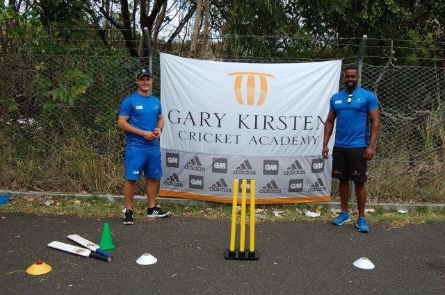 Coaches from Gary Kirsten Cricket Academy assist in Mauritian cricket development initiative
