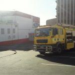 Fire at a bottle store in Umbilo Road