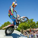 Two-wheeled action at the Rand Show 2017