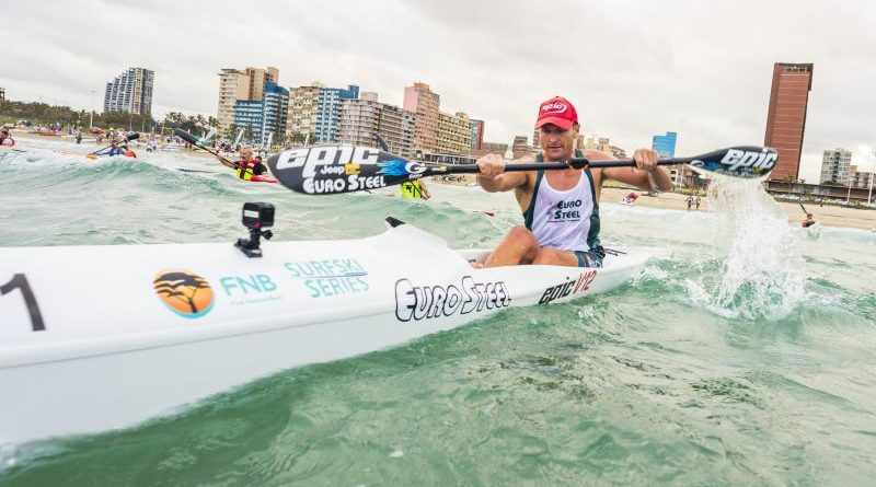 McGregor set to defend his Durban downwind surfski title to win SA champs