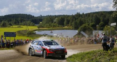Hyundai Motorsport aims at first podium in fast and furious Rally Finland