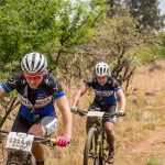 Nico Bell and Gawie Combrinck on top after Berg & Bush day 1
