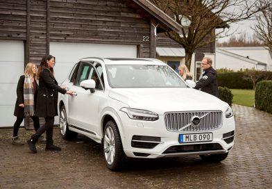 Swedish families help Volvo Cars develop autonomous drive cars