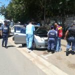 Four arrested for business robbery in Kimberley