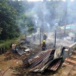 Flat engulfed in flames in Westville