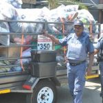 Durban Metro Police swoop of counterfeit goods traders