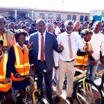 Bicycle Handover by MEC Kaunda