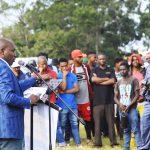MEC Kaunda engages with Mvutshini Community
