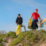 Isuzu Staff commemorated World Oceans Day by cleaning up Beaches
