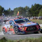 No podium in Rally Deutschland, but Hyundai retains WRC lead