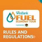 How will the WesBank Fuel Economy Tour in partnership with FNB ensure accurate data collection?
