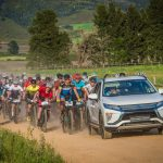 Still waters run deep with Mitsubishi Motors as official vehicle supplier