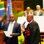 Newly elected Mayor Mxolisi Kaunda officially sworn in