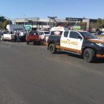 Two-vehicle collision in Pretoria