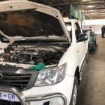 Seven stolen vehicles found on the premises of a panel beater in Chamdor, Krugersdorp