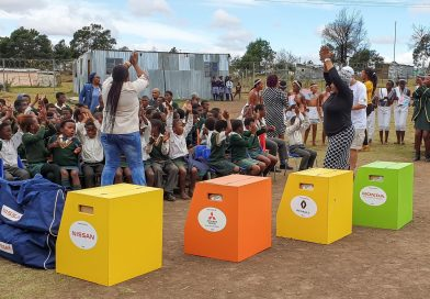 Two SA rural schools benefit from Fuel Economy Tour
