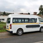 Hijacked Toyota Quantum recovered by JMPD Officers