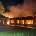 Fortunate escape from injury at a residential fire in Roodewal, Bloemfontein
