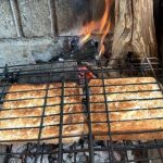 Be Cautious around the braai and potjie fire!