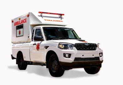 Affordable, go-anywhere medical support a reality with Mahindra Pik Up Ambulance